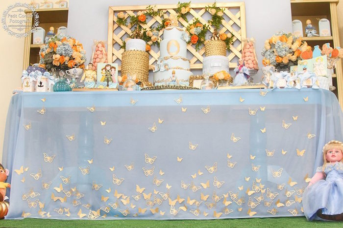 Kara's Party Ideas Cinderella Birthday Party via Kara's ...