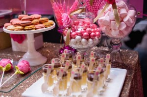 Glamorous Pink & Gold 40th Birthday Party via Kara's Party Ideas | KarasPartyIdeas.com (19)
