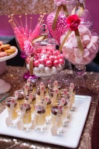 Glamorous Pink & Gold 40th Birthday Party via Kara's Party Ideas | KarasPartyIdeas.com (18)