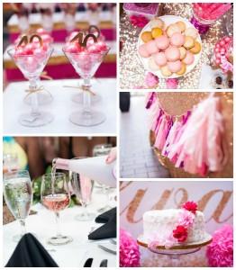 Glamorous Pink & Gold 40th Birthday Party via Kara's Party Ideas | KarasPartyIdeas.com (3)
