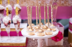 Glamorous Pink & Gold 40th Birthday Party via Kara's Party Ideas | KarasPartyIdeas.com (26)