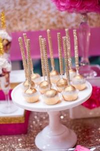 Glamorous Pink & Gold 40th Birthday Party via Kara's Party Ideas   KarasPartyIdeas.com (25)