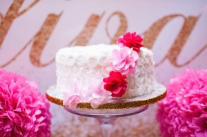 Glamorous Pink & Gold 40th Birthday Party via Kara's Party Ideas | KarasPartyIdeas.com (22)