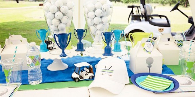 Golf Themed Birthday Party via Kara's Party Ideas | The Place for All Things Party! KarasPartyIdeas.com (2)
