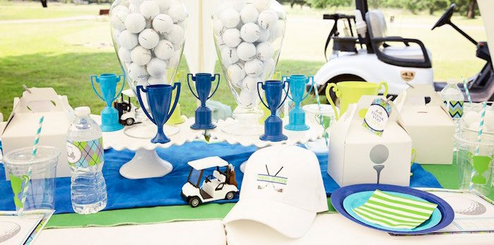 Karas Party Ideas Golf Themed Birthday