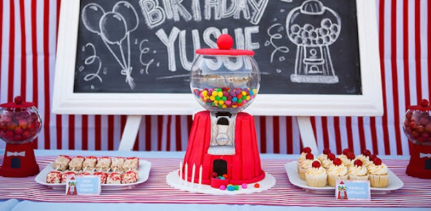 Gumball Birthday Party via Kara's Party Ideas | Party ideas, supplies, printables, cake, recipes, tutorials and more! KarasPartyIdeas.com (2)