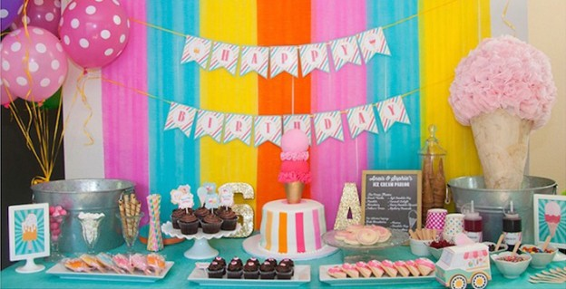 Ice Cream Parlor Party via Kara's Party Ideas | KarasPartyIdeas.com (2)