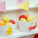 Kawaii Fruit Play Date Party via Kara's Party Ideas | The Place For All Things Party! KarasPartyIdeas.com (2)