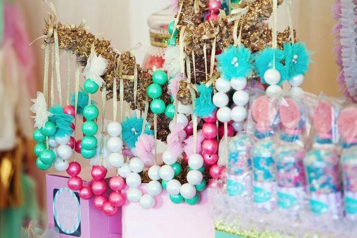 Karas Party Ideas Mermaid Under The Sea 1st Birthday Via