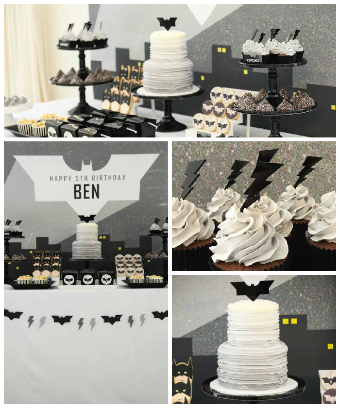Kara S Party Ideas Modern Batman Birthday Party Via Kara S
