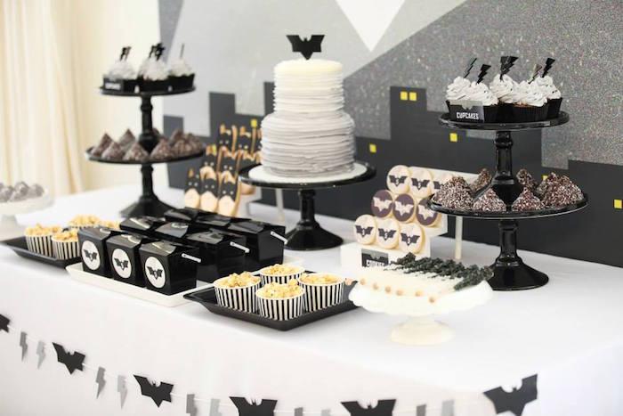 Karas Party Ideas Modern Batman Birthday Party Via Karas