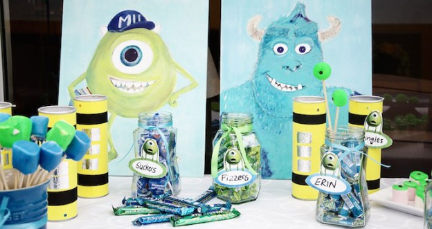 Monsters Inc. Birthday Party via Kara's Party Ideas KarasPartyIdeas.com (4)