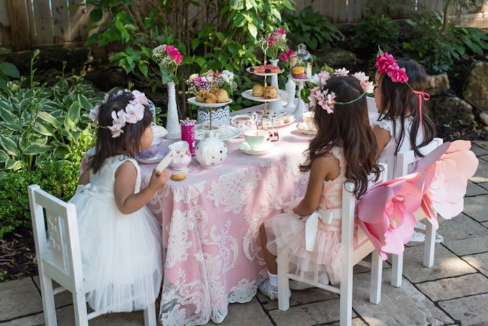 Outdoor Afternoon Tea Party Via Karau0027s Party Ideas KarasPartyIdeas.com ...