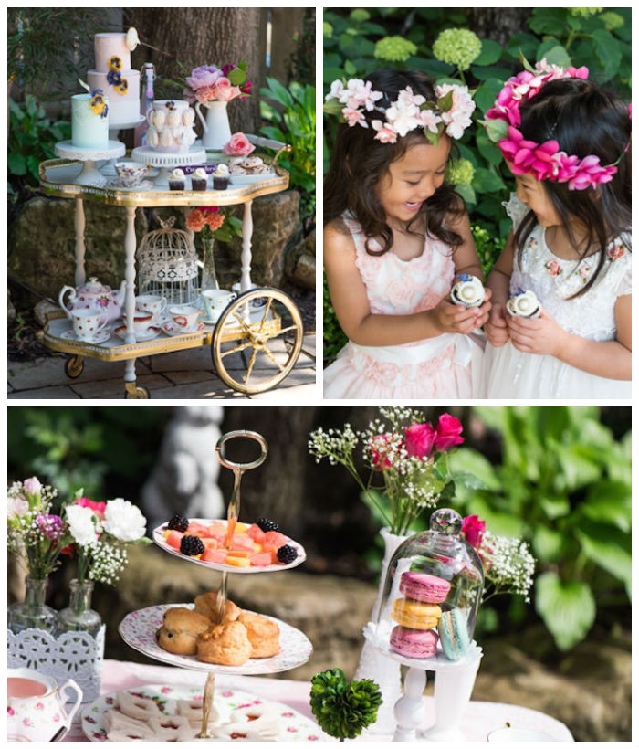 English Tea Party Decorations: Kara's Party Ideas Outdoor Afternoon Tea Party Via Kara's