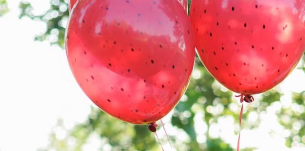 Strawberry Lemonade Birthday Party via Kara's Party Ideas | KarasPartyIdeas.com (3)