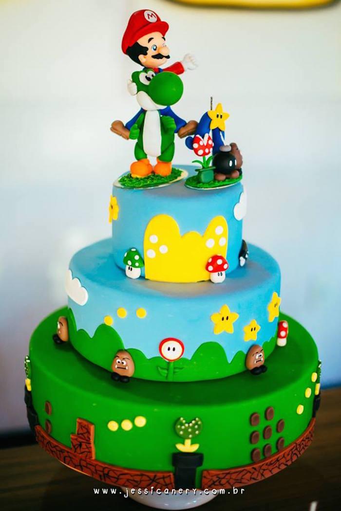 Kara's Party Ideas Super Mario Brothers Birthday Party via ...