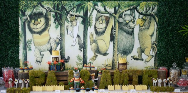 Karas Party Ideas Where The Wild Things Are Maurice Sendak Archives
