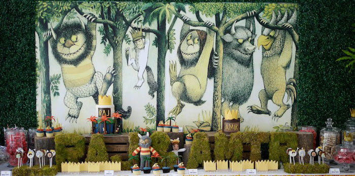 Kara S Party Ideas Where The Wild Things Are Birthday Party