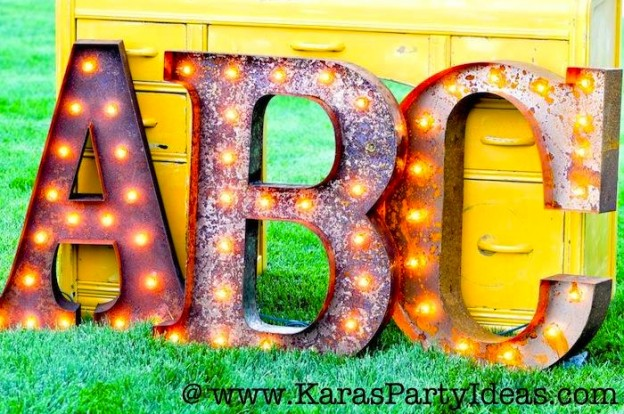 Back-to-School-Party-Vintage-Marquee-Light-Up-Letters-Via-Karas-Party-Ideas-KarasPartyIdeas.com-backtoschool-vintagemarqueeletters-lightupletters-letterlights-vintage-party-ideas-7