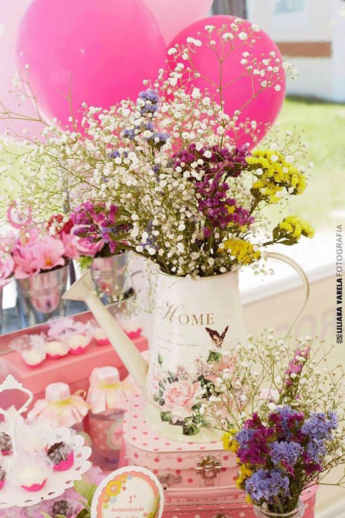 Kara S Party Ideas Butterfly Garden Birthday Party Via