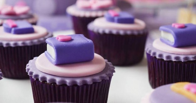 Cupcakes from a Doc McStuffins Birthday Party via Kara's Party Ideas KarasPartyIdeas.com (1)