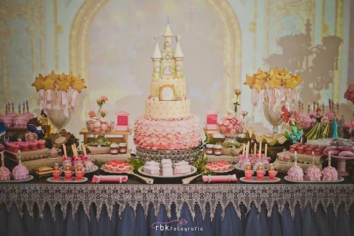 Elegant Princess Birthday Party Via Kara S Ideas Supplies Decor