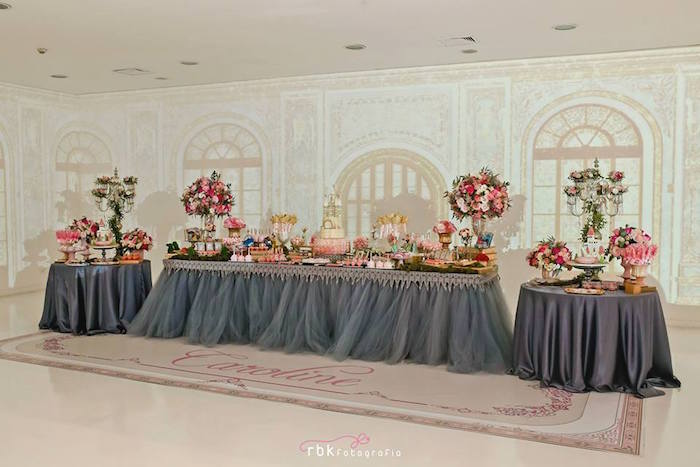 Elegant Princess Birthday Party Via Karas Ideas Supplies Decor