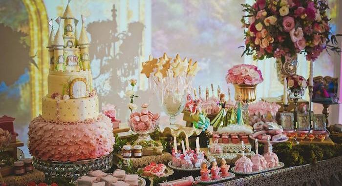 Kara S Party Ideas Elegant Princess Birthday Party Kara