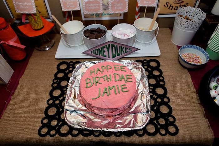 Kara39s Party Ideas Harry Potter Birthday Via