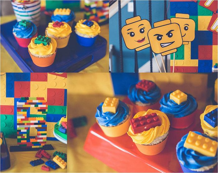 Kara's Party Ideas Lego Inspired Birthday Party | Kara's