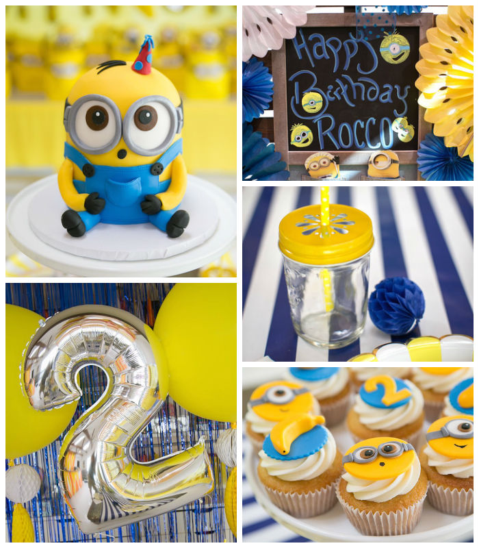 Karas Party Ideas Minion Birthday