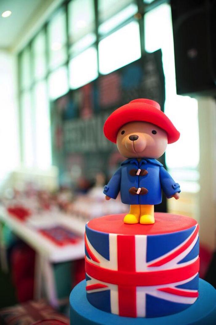 Kara S Party Ideas 187 Paddington Bear Cake Topper From A