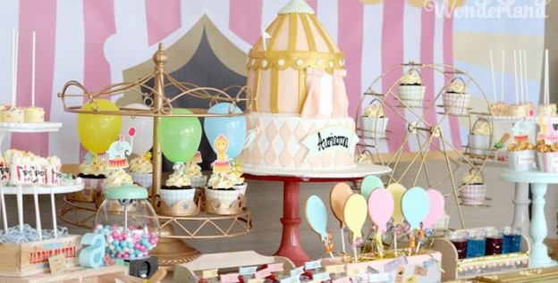 Pastel Carnival Birthday Party via Kara's Party Ideas | KarasPartyIdeas.com (3)