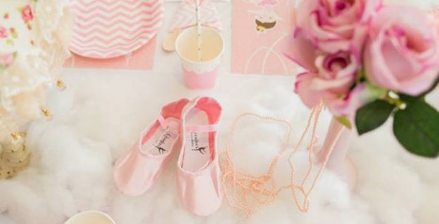 Pink Paris Ballerina Birthday Party via Kara's Party Ideas KarasPartyIdeas.com (2)