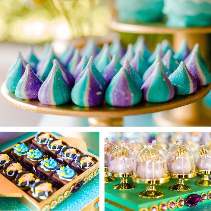 Sweets From A Princess Jasmine Birthday Party Via Karas Ideas KarasPartyIdeas 3