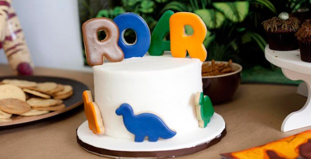 Roaring Dinosaur Birthday Party via Kara's Party Ideas | The Place for All Your Party Needs! KarasPartyIdeas.com (5)
