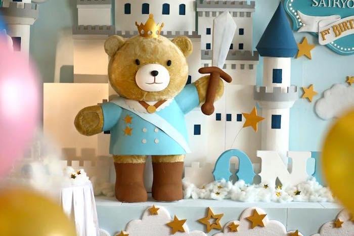 Kara S Party Ideas Royal Teddy Bear Backdrop From A Royal