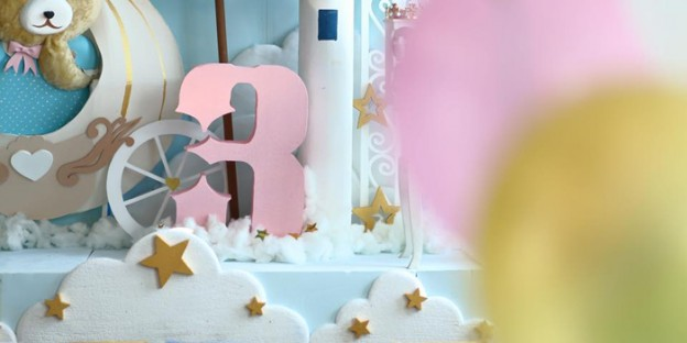 Decor from a Royal Teddy Bear Birthday Party via Kara's Party Ideas KarasPartyIdeas.com (2)