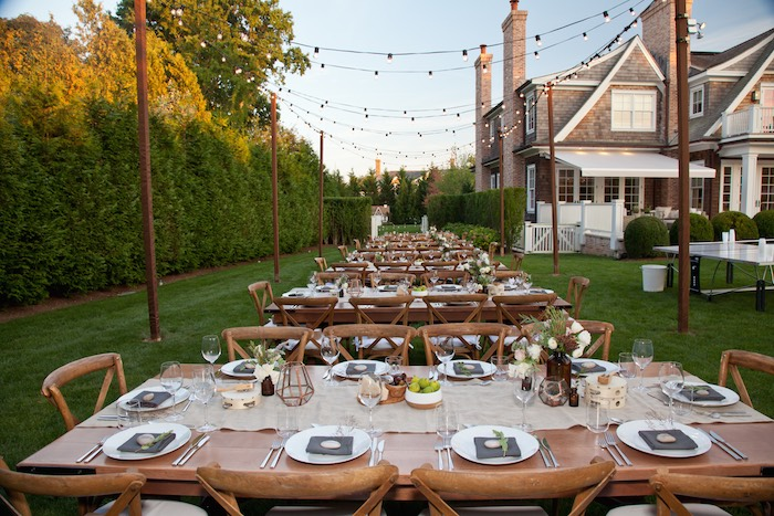 Dining Tablescapes From A Rustic Outdoor Birthday Soiree Via Karas Party Ideas