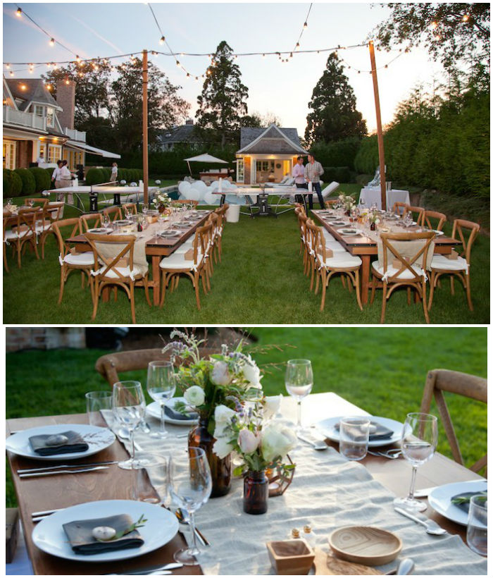 Ideas For Backyard Parties: Kara's Party Ideas Rustic Outdoor Birthday Soiree Via Kara