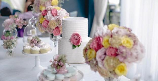 Sweet & Whimsical Floral 1st Birthday Party via Kara's Party Ideas KarasPartyIdeas.com (1)