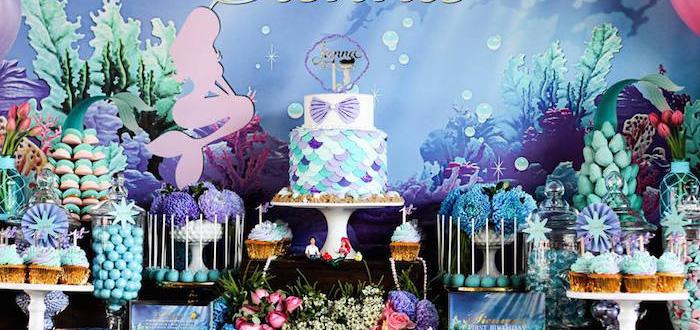 Kara S Party Ideas Under The Sea 1st Birthday Party Kara