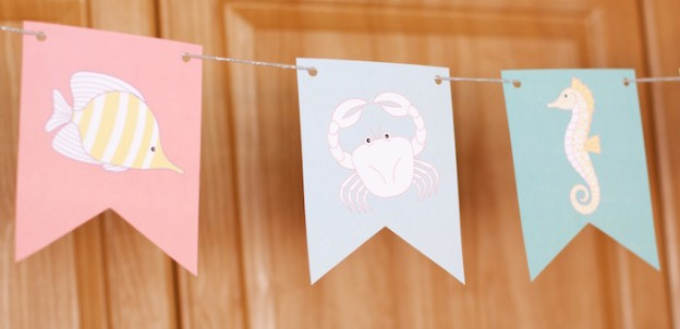 Under The Sea + Marine Life Baby Shower via Kara's Party Ideas | KarasPartyIdeas.com (2)