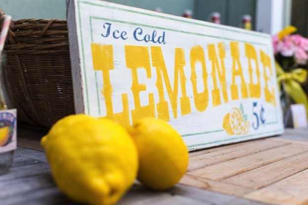 Vintage Lemonade Stand Party via Kara's Party Ideas | KarasPartyIdeas.com (48)