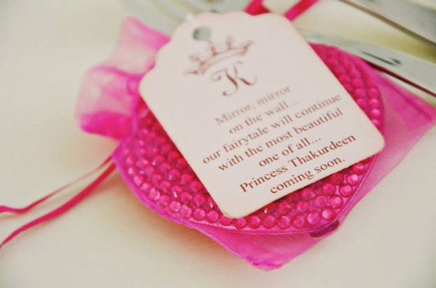 Party Favor Thank You Gift at a Fairytale Princess Baby Shower on KarasPartyIdeas.com #fairytale #princess #babyshower