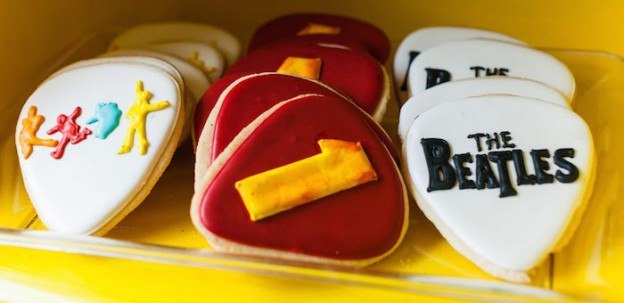 Cookies from a Beatles Inspired 1st Birthday Party via Kara's Party Ideas KarasPartyIdeas.com (3)