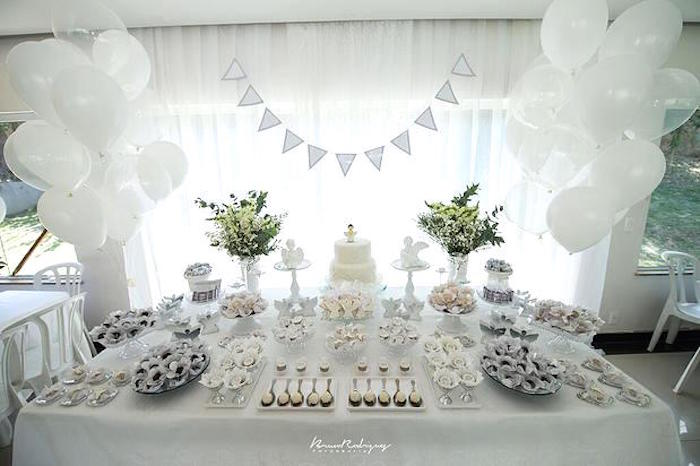 Karas Party Ideas Close Up View Of The Sweets Desserts