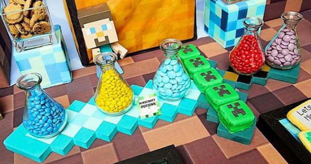 Candy from a Minecraft Birthday Party via Kara's Party Ideas | KarasPartyIdeas.com (3)