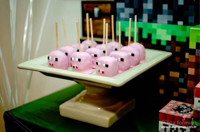 Kara S Party Ideas Steve And Creeper Minecraft Birthday Party