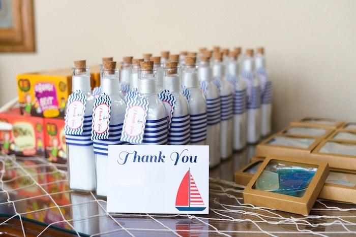 Kara S Party Ideas Favors From A Nautical Baby Shower Via